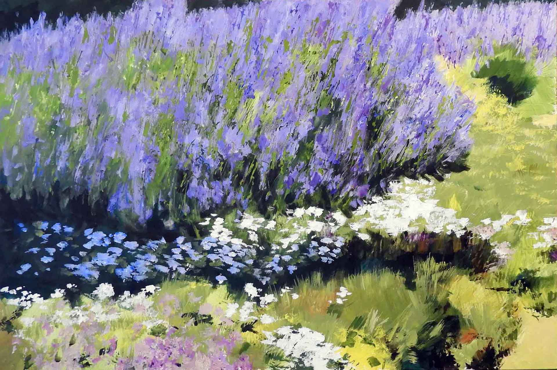 Lavender Summer, copyright © Anne Price Yates