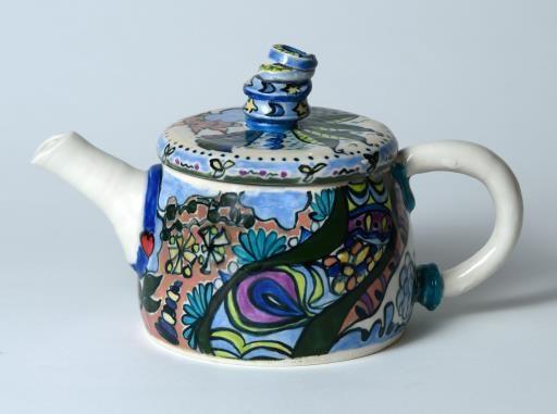 Fanciful Teapot, copyright © Andrea O