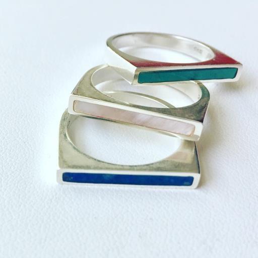 KSJ Stackable Rings, copyright © Kendra Roberts