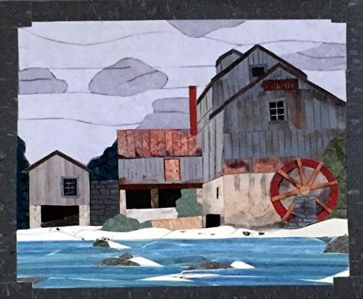 The Old Mill, copyright © Gordon Campbell