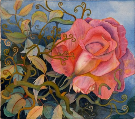 """A Rose for Grandma"", copyright © Lynne M. Taylor"