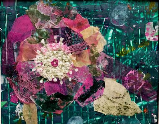 Bursting bloom, copyright © Chris Kondrat
