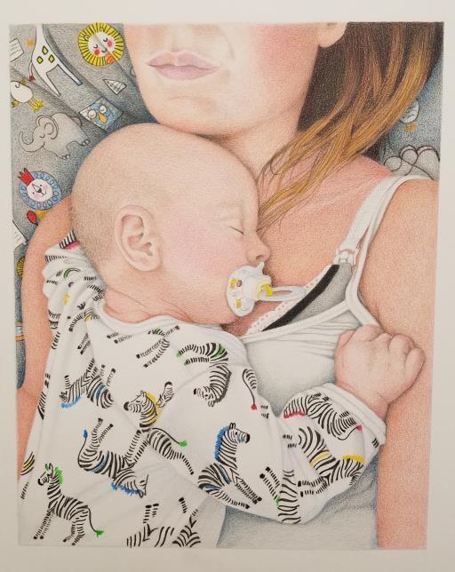 First Born, copyright © Dee Wagoner