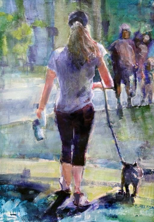 Out for a Stroll, copyright © Christine Helton