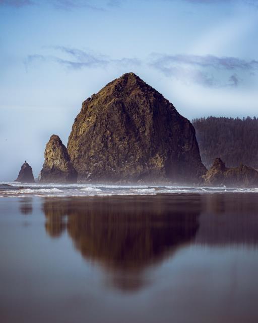 Haystack Rock, copyright © Ryan Hoffman