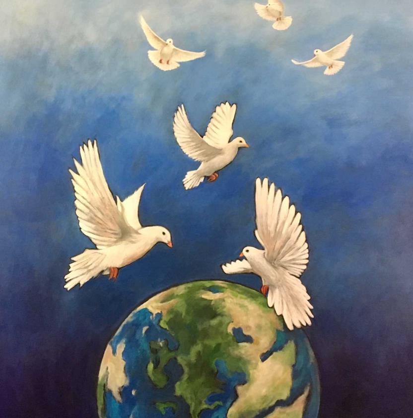 Imagine Peace, copyright © Nancy Norman