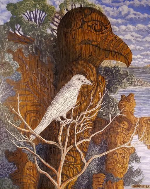 White Raven, copyright © Jim Brinkmeyer