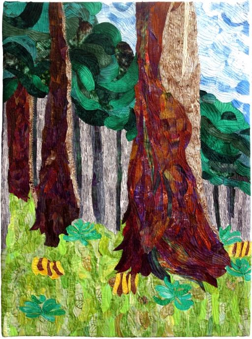 'Omage to Emily Carr, copyright © Sherrie Moomey