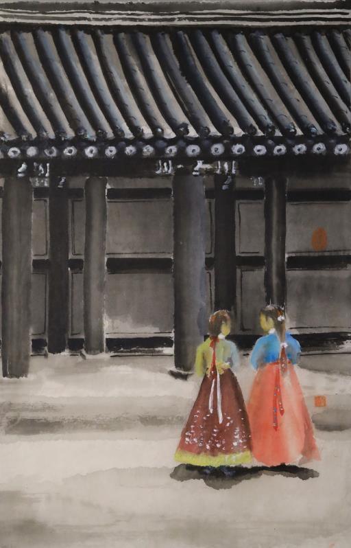 Korean Maidens, copyright © Tien-chu Loh