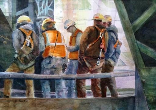 Bridge Builders, copyright © Christine Helton