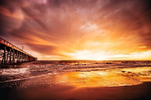 North Carolina Sunset, copyright © Nicole Corwin