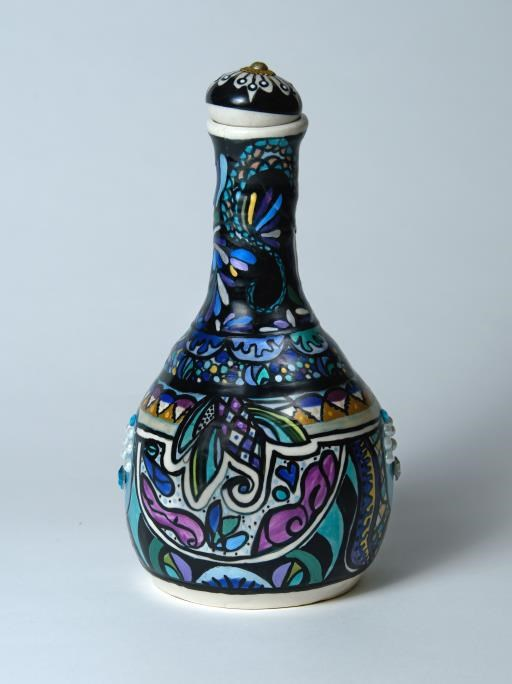 Magical Genie bottle, copyright © Andrea O