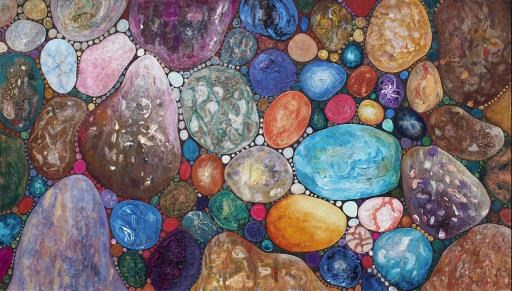 """Healing Stones"", copyright © Lynne M. Taylor"