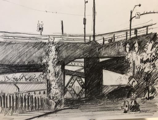 Broadway Bridge, copyright © George Schweser