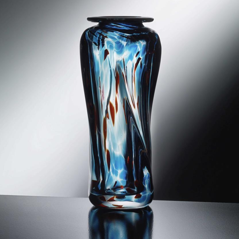 Square Twist Vase, copyright © Kyle Kraiter