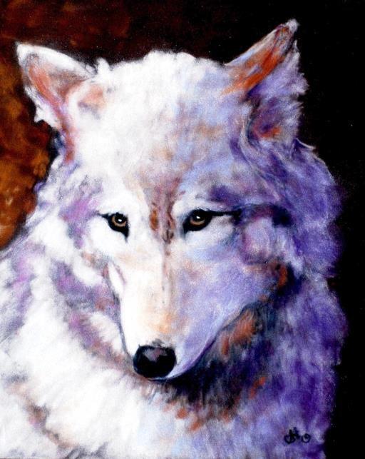 Lady Wolf, copyright © Sherry Hanson