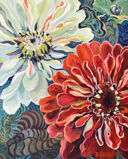 """In Full Bloom"", copyright © Donna Sanson"