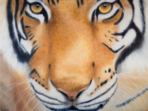 Eye of the Tiger, copyright © Leopoldine Leo Brew