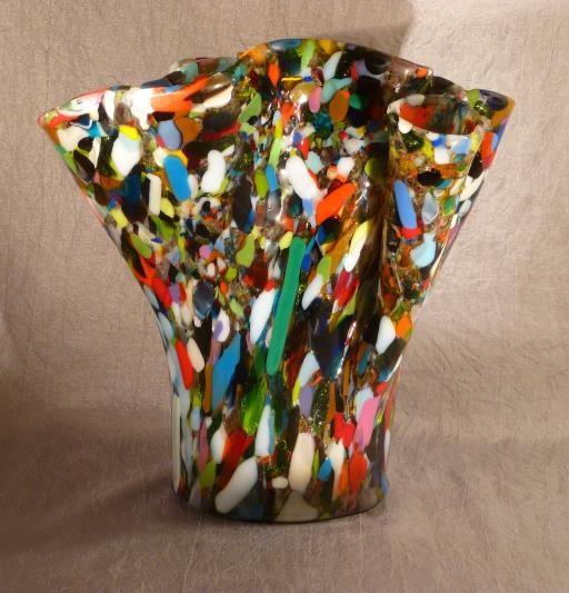 Carnival Vase With Oval Base, copyright © Rosalind Cooper