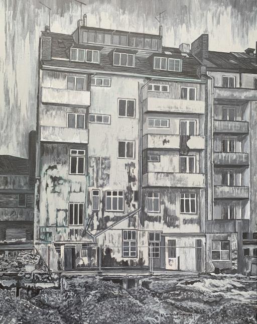 Apartment 1(Thomas Ruff's original photo), copyright © Carlos Molina