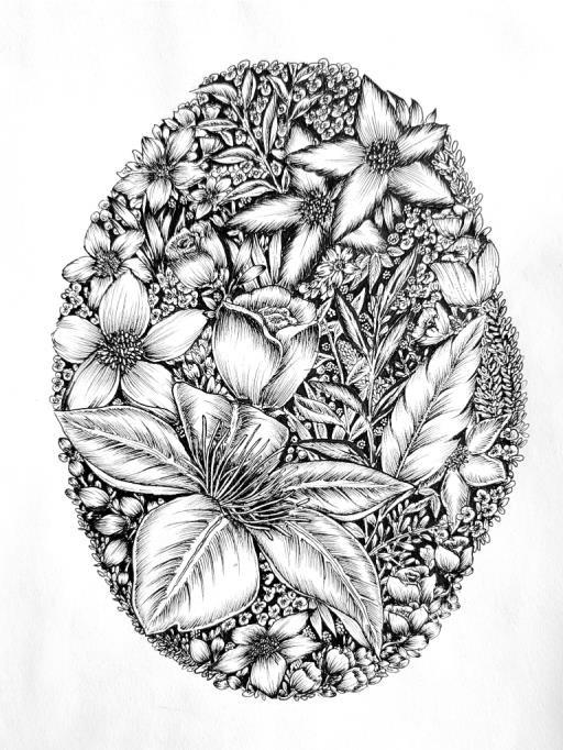 Floral Aesthetic, copyright © Sarah Rikaz