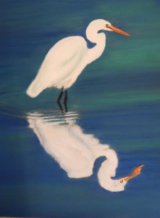 Great Egret, copyright © Rosemary King