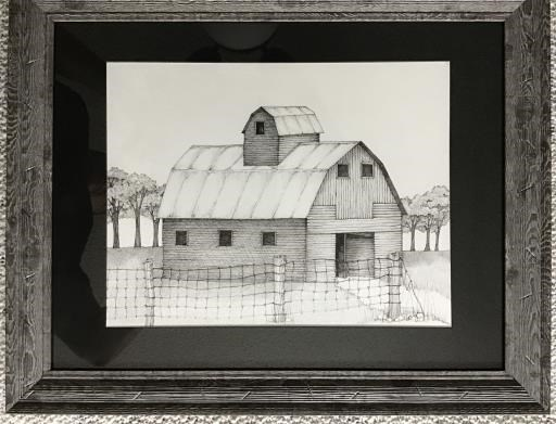 Country barn, copyright © Julianne Cook