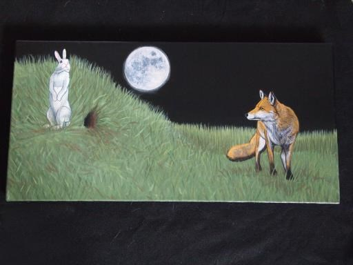 The Fox and The Rabbit, copyright © Juan M Aguirre
