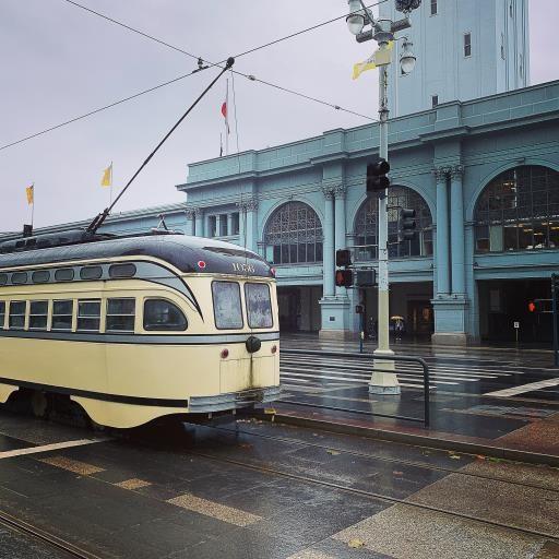 San Francisco Ferry Building, copyright © Jane Wolfsehr