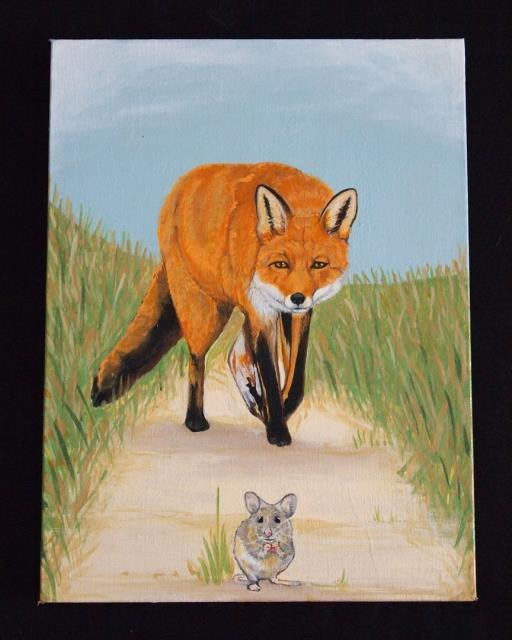 The Fox and The Mouse, copyright © Juan M Aguirre