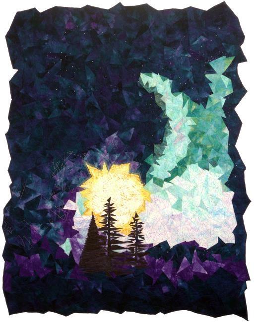 Night Sky Series: Northern Lights, copyright © Sherrie Moomey